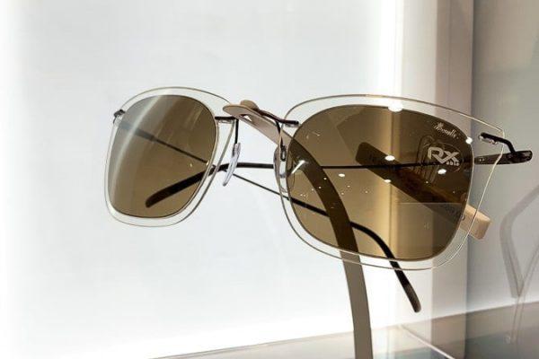 Silhouette Sonnenbrille mit braunen Gläsern Foto von PICNIC Foto Soest