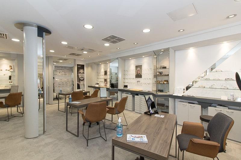 Blick ins Geschäft Optik Weiss Lippstadt